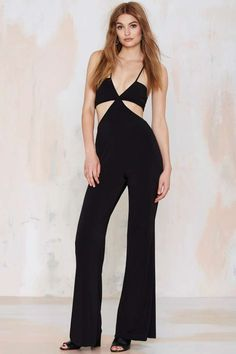 Nasty Gal Dark Side Cutout Jumpsuit - Rompers + Jumpsuits | Rompers + Jumpsuits | Going Out Sale | | Dresses