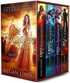 The Kingdom Saga Collection: Books 1-4 by Megan Linski, http://www.amazon.com/dp/B0728F1L3R/ref=cm_sw_r_pi_dp_x_BDRuzbZGR2E3A