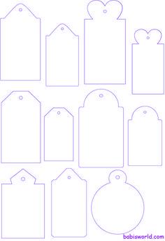 tags para imprimir - Buscar con Google                                                                                                                                                                                 Más