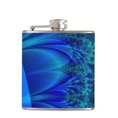 Blue Trace Fractal Hip Flask online after you search a lot for where to buyDiscount Deals Blue Trace Fractal Hip Flask lowest price Fast Shipping and save your money Now!!...