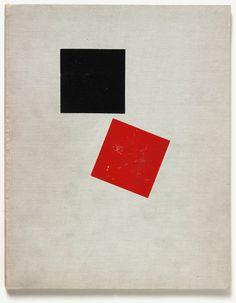 El Lissitzky's Suprematist story — of two squares (Suprematicheskii Skaz), 1922