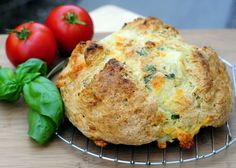 Mozz & Basil Quick Bread REVIEW: great flavor and easy to make - I also added a bit of italian seasonings into the dough - good basic fast bread recipe (without beer) that you could experiment with.