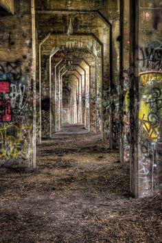 33 Gritty Photos of Graffiti Street Art - Photograph Vanishing Point by Len Saltiel on - Photo Background Images Hd, Blur Background Photography, Photo Backgrounds, Graffiti Photography, Street Art Photography, Urban Photography, Photography Backdrops, Picsart Background, Vanishing Point
