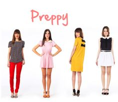 collection by Monshowroom selection style prepy