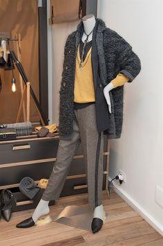 Fashion 2018 Trends, Fashion Tips, Layered Fashion, Fashion Capsule, Knitwear Fashion, Winter Colors, Brunello Cucinelli, Comfortable Fashion, Colorful Fashion