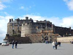 Edinburgh Castle, die berühmteste schottische Burg.                                                                                                                                                                                 Mehr