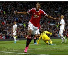 Martial Manchester united striker - Digital art effect