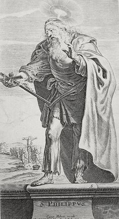 The Apostles in the Phillip Medhurst Collection 063 Philip Acts cap 1 v 13 Therdore on Flickr. A print from the Phillip Medhurst Collection (published by Revd. Philip De Vere at St.George's Court, Kidderminster, England)
