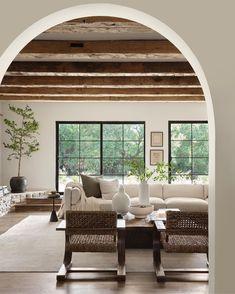 Relax, Bright Rooms, Interior Decorating, Interior Design, Decorating Ideas, Decor Ideas, Big Windows, Furniture Arrangement, Farmhouse Design