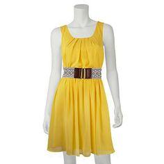 Kohls Yellow sundress