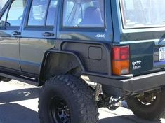 Quarter panel. Jeep XJ. https://www.pinterest.com/dapoirier/4x4-and-trucks/