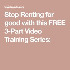 THIS is the thing Have you ever struggled with wasting your money on rent and dreaming of owning your own home? Just like you, I truly wanted to quit renting for good and purchase my very own home. Renting, Do Anything, Investing, Training, Free, Real Estate, Money, Real Estates, Exercise