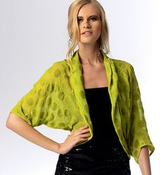 Misses' Wraps and Jackets -- several different styles in pattern envelope and rated EASY
