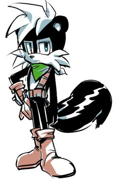 07.05 by Lenmeu.deviantart.com on @DeviantArt Geoffrey the skunk, if you read the comic then you'll know who's Geoffrey.