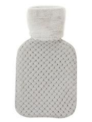 George Home Knitted Hot Water Bottle