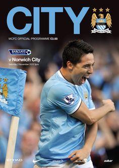 City v Norwich cover: Samir Nasri