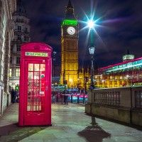 Colourful Westminster Christmas Cards