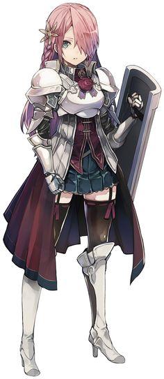 スクエニ、『グリムノーツ』主人公キャラクター「エイダ」が登場! 新主人公獲得イベント「運命に抗う白き盾」がスタート‼︎ | Social Game Info