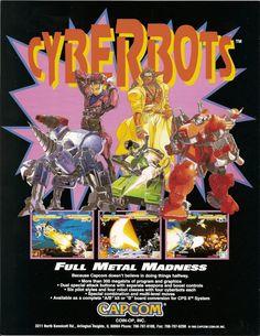 Cyberbots (Capcom - arcade - 1994) - robot fighting game