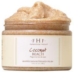 FarmHouse Fresh Coconut Beach Body Polish
