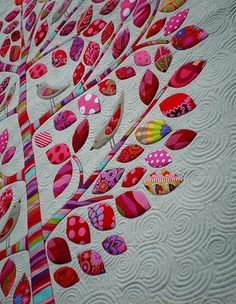 quilt tree, wish I could quilt I want this!