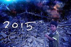 New Year 2015 #2015 سنة جديده وسفك الدماء مستمر واللجوء والهروب من الحرب مستمر . .......................................... New Year The ongoing bloodshed And asylum and escape from the constant war. ..........................................