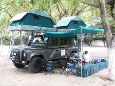 Roof tent car and van camping. URL with several car roof tents