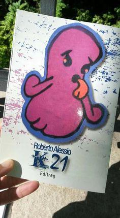 """Copertina libro """"K21"""" di Roberto Alessio"""