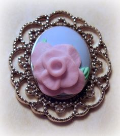 ...Make It With Me: Another Rose, Painting with Polymer Clay