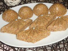 Rfis tounes aux dattes semoule et halwa el-turc/ Gateau algérien sans cuisson♥