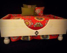 Large Wood Dog Bed
