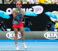 Newly-crowed Australian Open champion, Angelique Kerber!