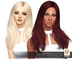 Cazy Miller: Solids at Miss Paraply • Sims 4 Updates