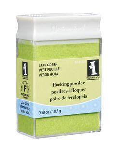 INKADINKADO Flocking Powders Leaf Green