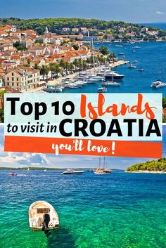 This Guide includes the best Islands in Croatia to visit like Brac, Hvar, Korcula, Vis, etc. and all info you need for Croatian Island hopping, sailing Croatia, things to do and more! Whether you are based Dubrovnik or in Split, it's very easy to visit th Croatia Travel Guide, Europe Travel Guide, Travel Guides, Europe Destinations, Honeymoon Destinations, Backpacking Europe, Travel Couple, Family Travel, Dubrovnik
