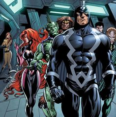 Inhumans. Soon to be a Marvel movie.