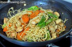 Simple Chicken Lo Mein Recipe