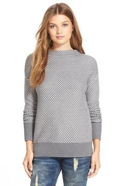 Caslon® Funnel Neck Sweater (Regular & Petite) available at #Nordstrom