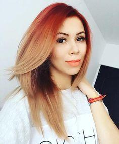 Красный блонд