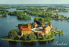 Trakai Island Castle, Trakai, Lithuania ~ Sooooo Proud of my daughter ~ Rowing for Canada here on August 7-12, 2013 at the Worlds Junior Rowing Championships in the Women's Double!!! .