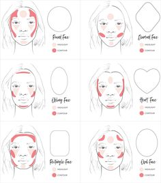 Learn how to correctly contour and highlight for your correct face shape.   Posted on June 23, 2017 Written by: 100% PURE®        Contouring has become one of the most popular makeup trends in the last few years and we can tell it's here to stay. It might be a simple bronzed cheekbone to bring out your natural summer glow or a full-on trompe l'oeil through masterful pro-techniques. We've added in face shapes to help you specifically contour and highlight to play-up your unique features....