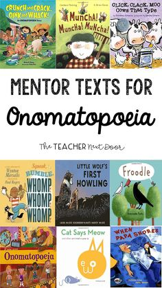 One of the effective figurative language activities teachers can use is reading mentor texts for min Teaching Poetry, Teaching Reading, Figurative Language Activity, Language Activities, Poetry Activities, Mentor Texts, Readers Workshop, Picture Books, Just In Case