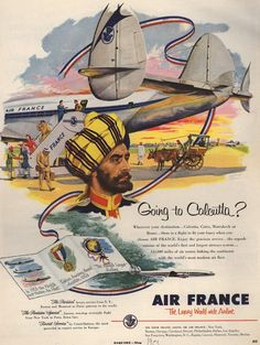 Anciennes affiches dAir France 2