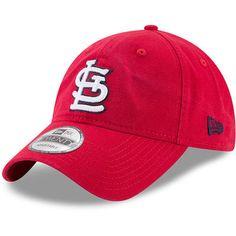 87ade18277c Men s New Era Red St. Louis Cardinals Core Classic 9TWENTY Adjustable Hat