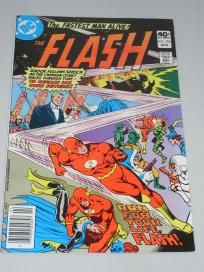 1980 DC The Flash April # 284 Comic Book Free Shipping!!