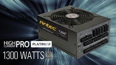 Here is your chance to win an Antec High Current Pro Platinum power supply.