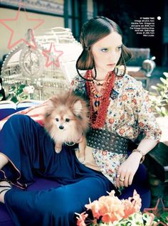 Codie Young by Nicole Bentley for Vogue Australia