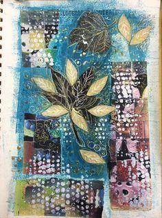 Carmen B. Norris: Art Challenge- 15 Days of 15 minute Mixed Media-1/...