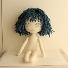 cloth doll by Gingermelon, via Flickr
