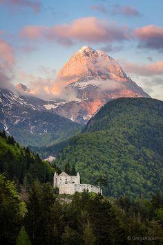 Mountain Castle, Tolmin, Slovenia